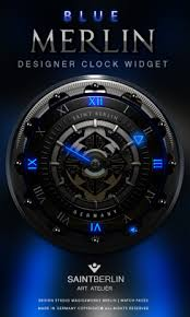 analog clock widgets for android blue merlin hd laser analog clock widget 3 00 apk for