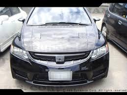 06 08 honda civic 4dr usdm type r front bumper w pp fbp c0609 4d