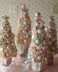 46 best christmas tree decoration shabby chic images on