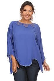 royal blue blouse top s plus size sleeve royal blue blouse top at amazon