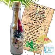 message in a bottle wedding invitations message in a bottle wedding invitations announcements