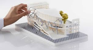 architecture 3d printed architectural models home interior