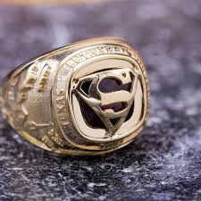superman wedding ring geeky engagement rings nerdy wedding bands custommade