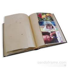 photo albums with memo area greenergy teal blue album holds 300 photos with memo area