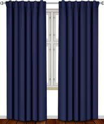Navy Tab Top Curtains Curtain Navy Bluevet Curtains Curtain Panels Grommet Blackout