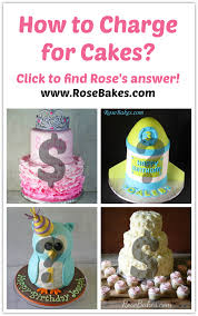 Cake Decorating Figures How To Make How To Charge For Cakes Cake Decorating And Cake Business