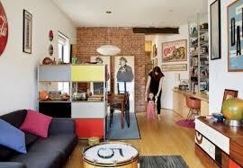 Mid Century Modern Tiny House Mid Century Modern Renovation Of A Tiny New York Apartment Digsdigs