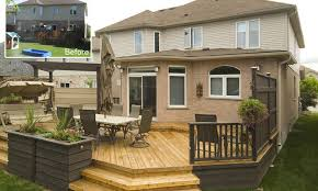 Patio Deck Cost by Garden Design Garden Design With Small Backyard Deck Cost