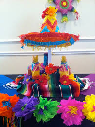fiesta centerpiece ideas the posh pixie mexican party table