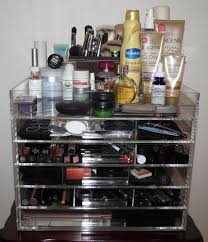 bedroom chic make up drawer for immaculate your cosmetic storage