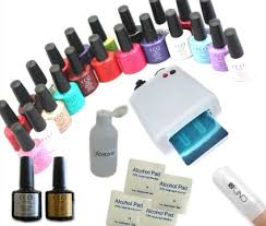 cnd shellac uv l for sale buy cco uv nail gel soak off kit with 10 cnd shellac remover wraps
