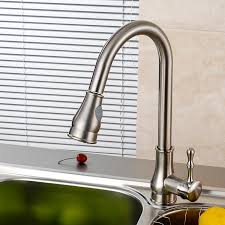 Brushed Nickel Kitchen Faucet Brushed Nickel Kitchen Faucets Loccie Better Homes Gardens Ideas