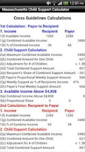 ma child support calculator android apps on google play