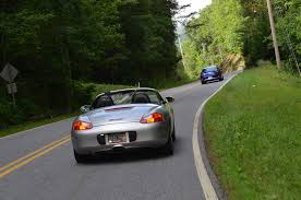 porsche boxster fender flares smoky mountain tour enjoying america u0027s best driving roads news