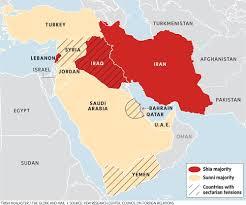 Map Of Israel And Syria by Escalating Dispute Between Saudi Arabia Iran Threatens Syria