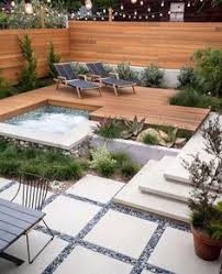 Concrete Backyard Ideas 30 Beautiful Backyard Landscaping Design Ideas Landscaping