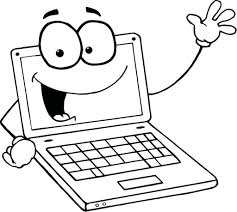 skillful design computer coloring pages computer lab coloring page