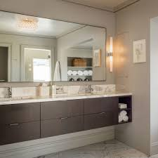 gatco bathroom mirrors bathroom chrome framed mirrors floating bathroom vanity rectangle
