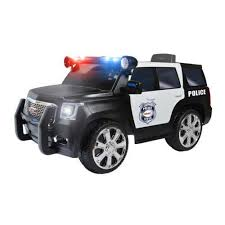 motorized car kid s police ride on toy battery operated power wheels riding