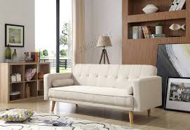 foxhunter fabric sofa bed 3 seater couch luxury modern home