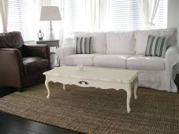 Slipcovers Sofa by White Slipcovered Sofa For Nice Living Room Homesfeed