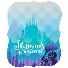 mermaids under the sea invitations 8pk walmart com