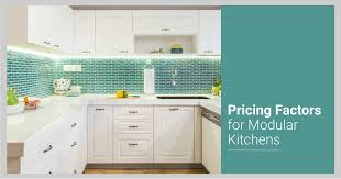 used kitchen cabinets in pune what affects your modular kitchen price