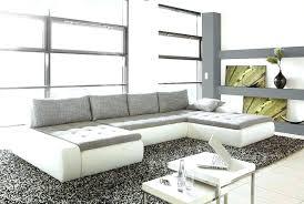 canape grand angle canape d angle contemporain design canapac dangle en cuir blanc lyon