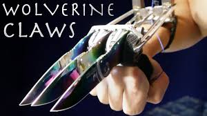metal claws how to make wolverine claws rainbow metal automatic