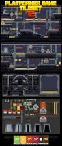 tiling background halloween platformer game tile set 12 game assets vector game and gaming