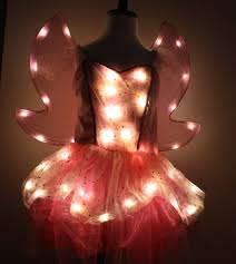 Light Up Halloween Costume by Fairy Girls Light Up Halloween Costume With Light Up Wings Really