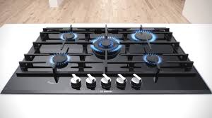 piano cottura bosh piani cottura a gas con flameselect