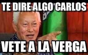 Carlos Meme - te dire algo carlos yeah meme on memegen