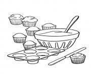 cupcake coloring pages to print cupcake with heart stencil coloring pages printable