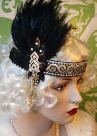 flapper headband diy 54 best gatsby images on roaring 20s vintage dresses