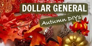 autumn decor dollar general haul autumn decor diys