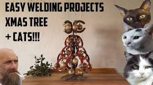 easy beginners welding projects christmas tree youtube
