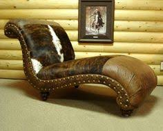 a stately leather cowhide library chair makes a great statement in