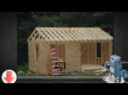 Making Your Own Shed Plans by 10x12 Storage Shed Plans Build Your Own Shed Youtube