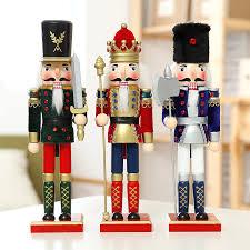 nutcracker puppet flannelette soldiers vintage home decor