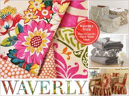 Waverly Upholstery Fabric Welcome To Waverly Week Cool Projects A Designer Tour Plus