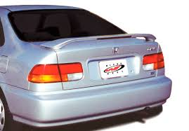 2000 honda civic spoiler 1996 2000 honda civic 2dr coupe factory style wing with light