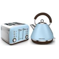 Blue 4 Slice Toaster Morphy Richards Cornflower Blue Kettle And 4 Slice Toaster Accents