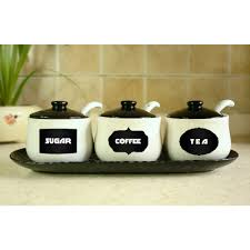 Black Kitchen Canisters by Compare Prices On Decorative Kitchen Jars Online Shopping Buy Low