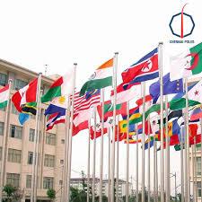 Flag Hoist Signaling Flag Poles Chennai Poles Private Limited