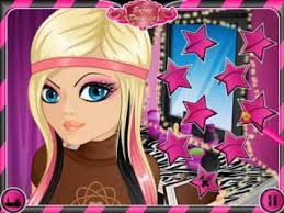 emo dress up games nerdy to emo makeover nerd emo make up and dress up game for girls