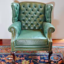 Turquoise Chairs Leather Weturquoise Leather Wingback Chair Turquoise Wing Cover