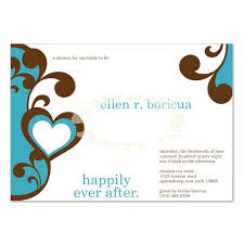 bridal shower invitation templates blue brown bridal shower invitation templates do