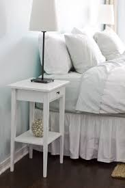 Bedroom Nightstand Ideas Simple Diy Bedside Nightstand Table With Storage And Drawer