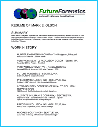 auto mechanic resume qualifications sample customer service resume